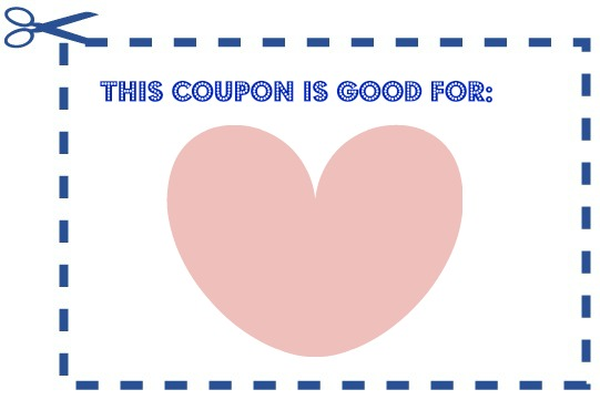 Blank Coupon Template  Coupon Word Template